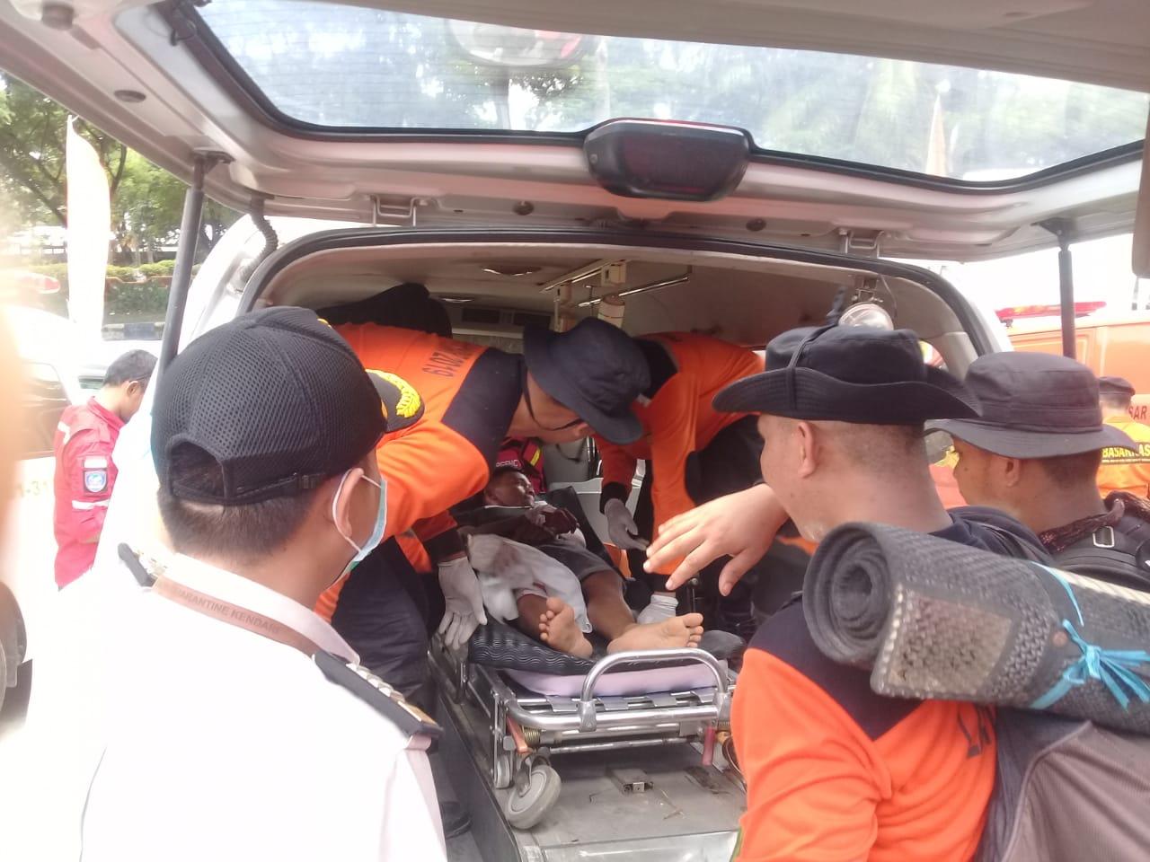 Menguji Kesiapan Potensi dan Kemampuan Personil, SAR Kendari Gelar Simulasi Bencana
