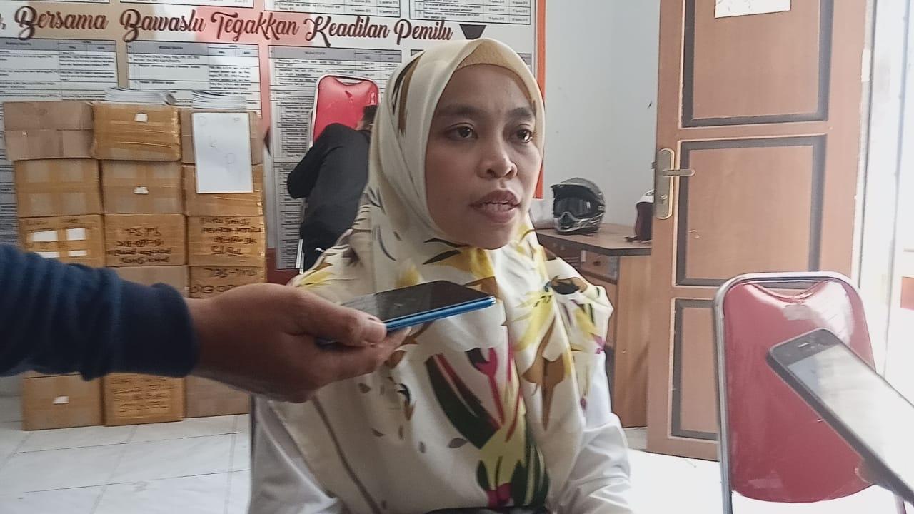 Merasa Dicurangi Oleh PPS, CALEG PAN Dapil 2 Melapor Ke Bawaslu Kab. Jeneponto