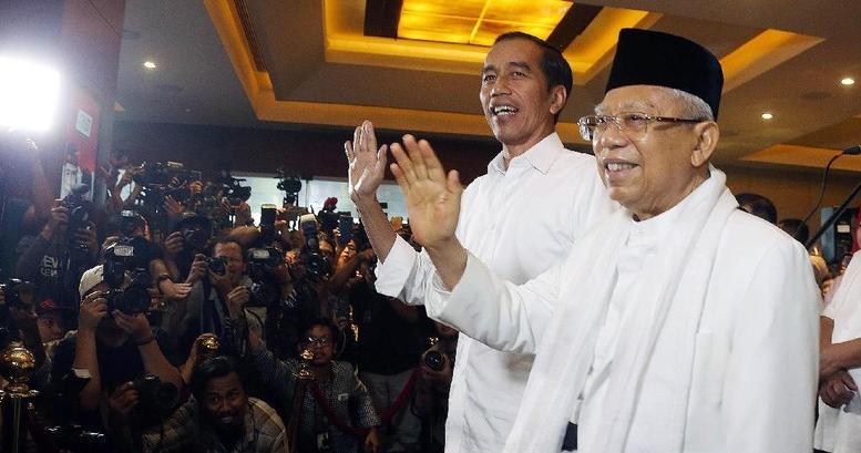 KPU Pusat Tetapkan Jokowi-Ma'ruf Pemenang Pilpres 2019