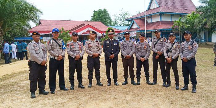 Polsek Belitang Ucapkan Dirgahayu RI ke 74 Tahun 2019