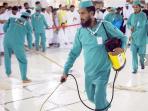Pertahankan kebersihan dan Aroma Harum, Masjidil Haram Dibersihkan 4 Kali Sehari Selama Musim Haji