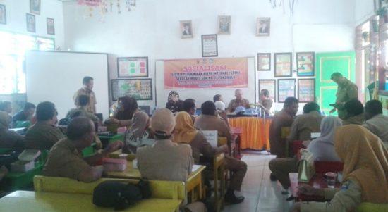 Tingkatkan Mutu Pendidikan, Disdikbud Jeneponto Gelar Sosialisasi Sistem Penjaminan Mutu Internal SPMI