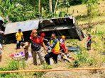 REM Truk Blong dan masuk Jurang Tewaskan 20 Orang