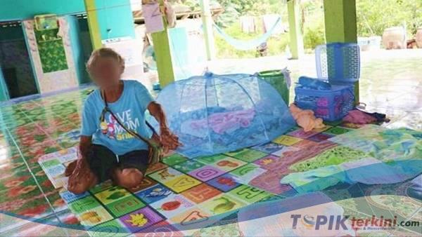 Ditinggal ibunya ke toilet, Seorang Bayi ditemukan tak Bernyawa di belakan rumah