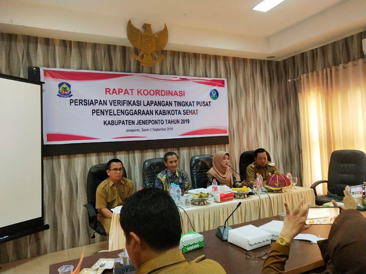Ketua FKKS Mantapkan Kabupaten Sehat