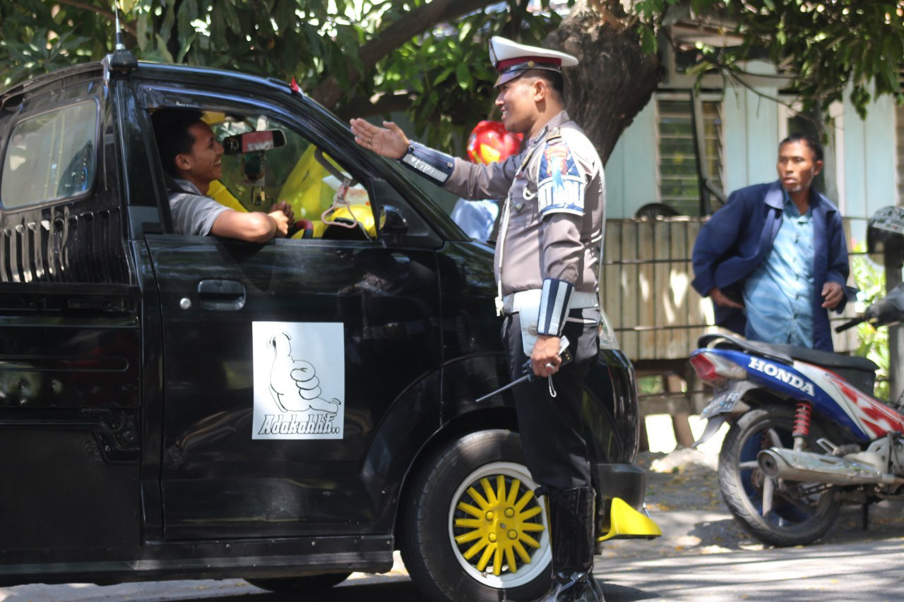 Pekan Pertama Operasi Patuh 2019, Polres Bantaeng Tindak 72 Pelanggaran