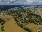 2 Minggu Diguyur Hujan, Timur laut Thailand Terendam Banjir