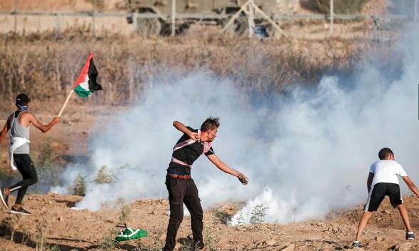 Pasukan Israel Membunuh Dua Warga Palestina Saat Aksi Protes di Perbatasan Gaza