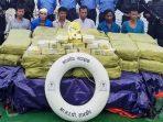 Polisi Menyita 1 Ton Sabu Diatas Kapal dan menangkap enam awak Myanmar