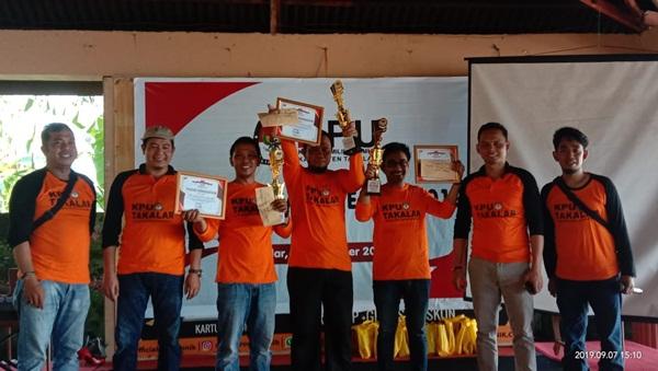 PPK Mapsu Raih Penghargaan Penyelenggara Pemilu Terbaik 2019