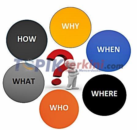 Unsur 5W 1H yang harus diketahui dalam mengembangkan Ide Cerita