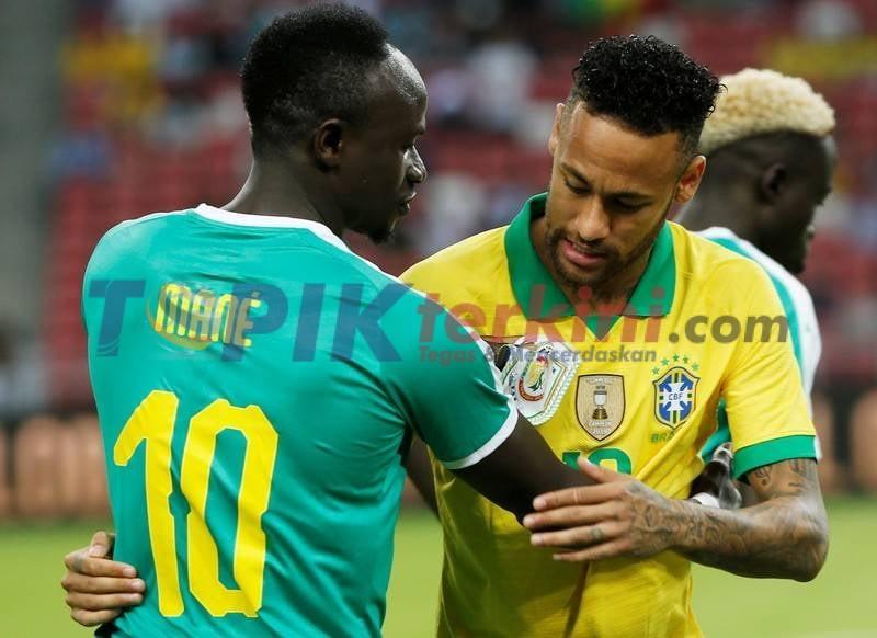 Brasil ditahan imbang 1-1 oleh Senegal di pertandingan persahabatan