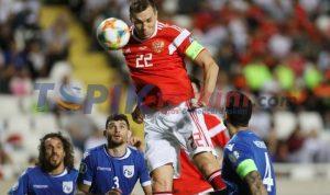 Rusia mengalahkan Siprus untuk lolos ke Kejuaraan Eropa 2020