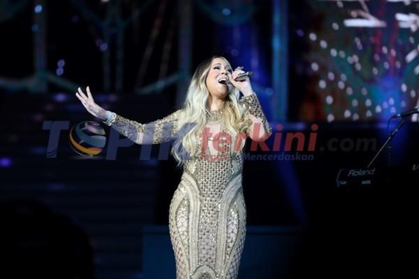Mariah Carey juara desainer yang berbasis di Dubai di pesta Expo 2020