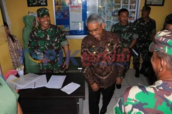 Gelar Kegiatan Donor Darah di HUT Ke - 74, Bupati Luwu Timur Apresiasi Aksi TNI
