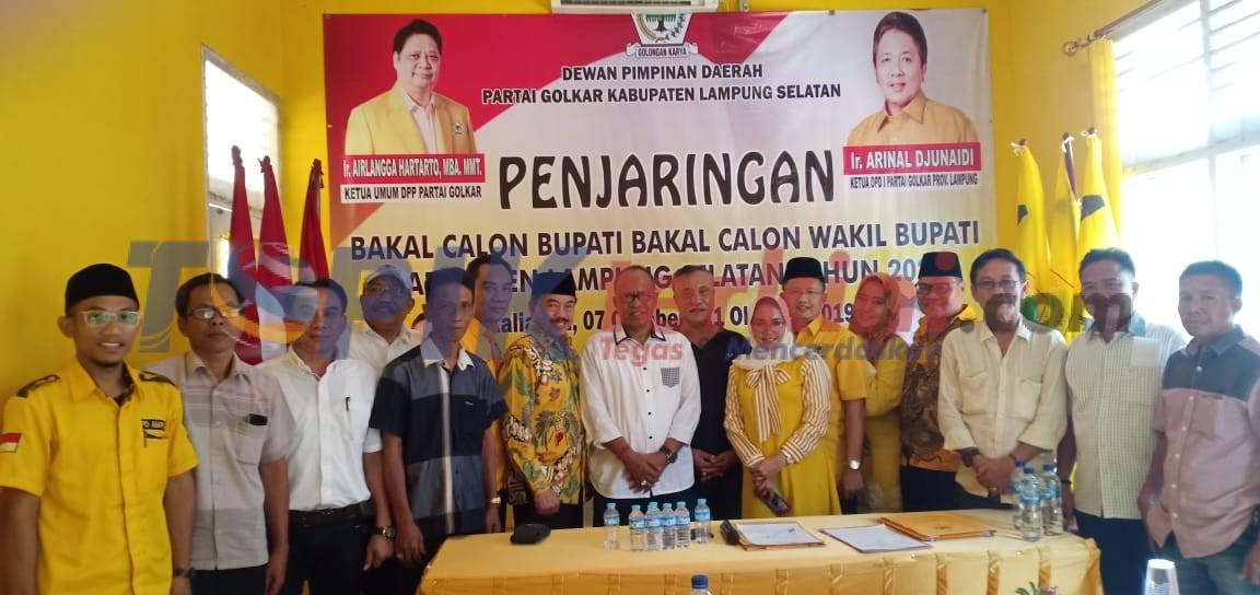 Golkar Lamsel Buka Pendaftaran Bakal Calon Bupati & Wakil Bupati Pilkada 2020