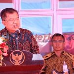 Kunker Wapres JK Resmikan Rusunawa Politeknik Bone