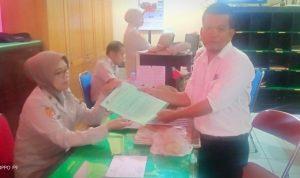 RBHI Bone resmi melapor ke Polda Sulsel terkait pelarangan liputan di DPRD