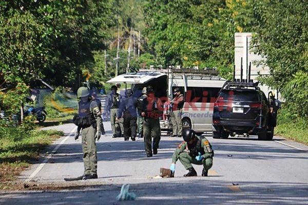 15 Terbunuh saat Serangan di pos keamanan Thailand selatan