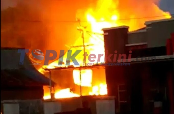 Kebakaran di Bone Tewaskan seorang Nenek dan Hanguskan 1 Unit Rumah