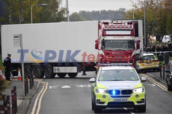 Polisi menemukan 41 migran didalam truk di Yunani utara