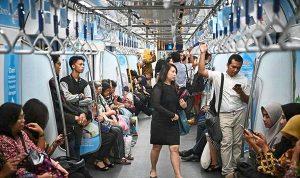 MRT Jakarta menetapkan peraturan standar penumpang