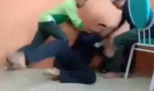 10 Siswa ditangkap karena memukuli teman sekelasnya
