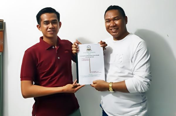 DPP GERAK INDONESIA Serahkan SK Kepada Andika Ali Kanji, S.H Selaku Ketua DPD Provinsi Sulawesi Selatan