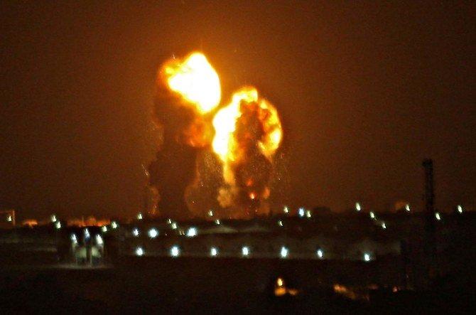 Israel menyerang sasaran Hamas di Gaza setelah serangan roket