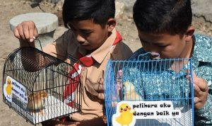 Luar Biasa, Anak-anak di bandung diberikan hewan peliharaan untuk Menjauhkan mereka dari ponsel pintar
