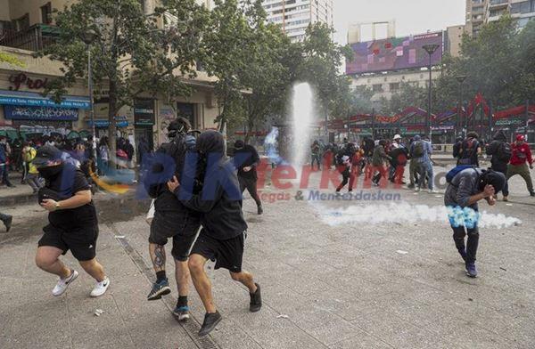 Protes Chili berlanjut, demonstrasi menghambat pertumbuhan ekonomi