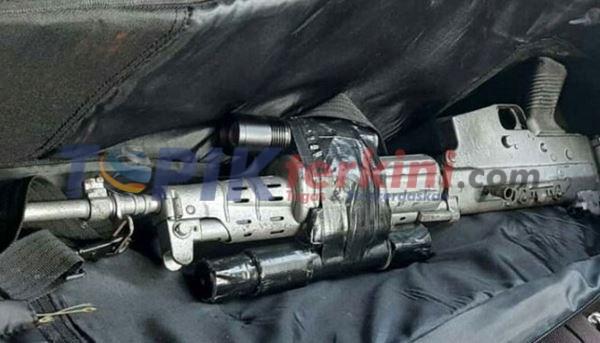 Polisi temukan senapan yang terkait dengan serangan Athena 2014
