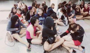 Imigrasi menahan 32 orang asing selama penggerebekan di tempat hiburan