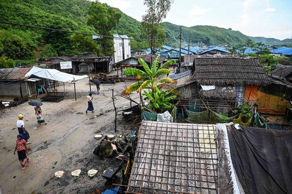 Kota Myanmar tawarkan secercah harapan bagi Umat Islam