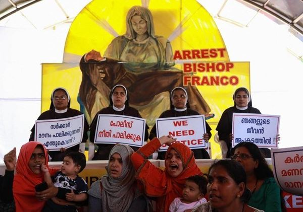 Perkosa Biarawati, Uskup Katolik asal Roma diadili di India