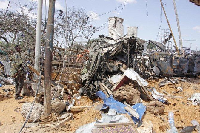 Pesawat militer Turki tiba untuk mengevakuasi korban bom Somalia