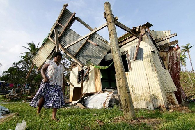 Dua tewas, 2.500 mencari perlindungan darurat di Fiji yang dilanda topan