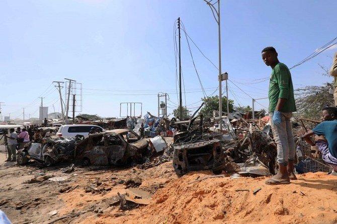 78 Pelajar Somalia tewas dalam serangan bom Mobil