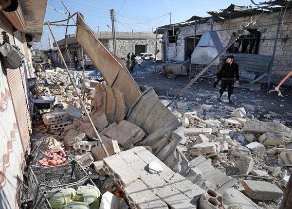 Serangan udara Rusia dan Suriah tewaskan 17 orang di daerah yang dikuasai pemberontak