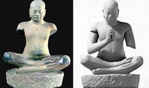 Misteri Bentuk sejati Patung Buddha terpecahkan