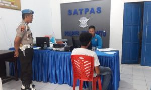 Polres Jeneponto Tertibkan Pemohon Pengurusan SIM Tidak Menggunakan CALO
