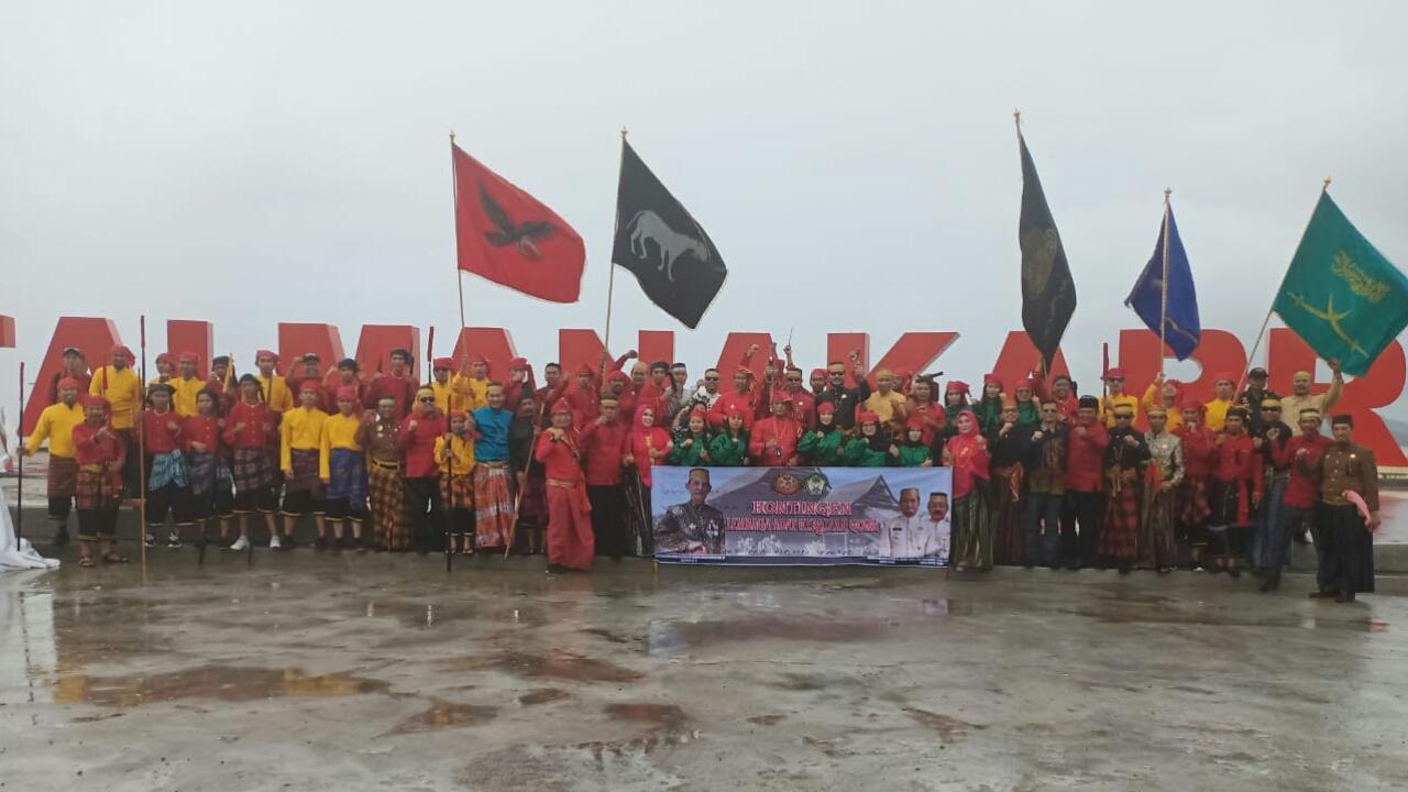 Kerajaan Gowa Ikut Ambil Baagian Dalam Parade Karnaval Budaya di Festival Maradika Mamuju