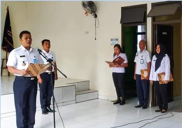 Balai Pemasyarakatan Manado Memperingati Upacara Hari Bela Negara