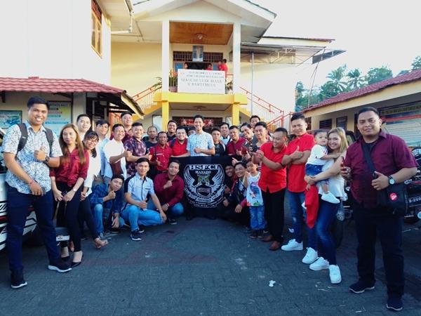 HUT Ke-6 Tahun, HSFCI Berbagi Kasih Dengan Anak-anak Panti Bartemeus GMIM Manado