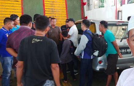 Hendak selundupkan mobil Curian ke Kolaka, Lelaki asal Takalar di Gelandang Polsek Pelabuhan Bajoe Bone