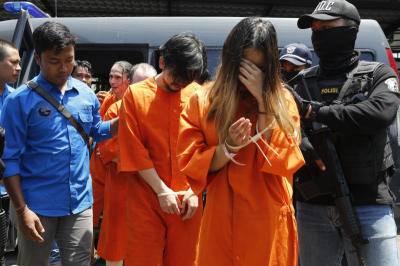 Lima WNA yang diduga melakukan perdagangan narkoba terancam hukuman mati