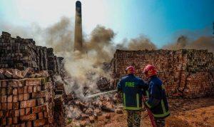Bangladesh merobohkan tempat pembakaran bata untuk memerangi kabut asap beracun