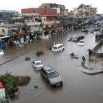 Banjir lumpuhkan ibukota Lebanon