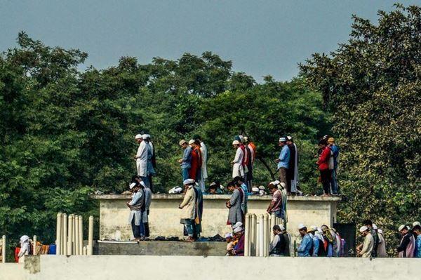 Harapkan kedamaian dan keamanan, Ratusan ribu Muslim di Bangladesh Berdo'a bersama pada Kongres muslim sedunia
