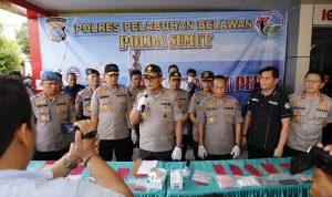 Dorr....!! Melawan saat ditangkap, Polisi Tembak mati Gembong Narkoba Lintas Provinsi